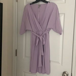ASOS maternity dress purple